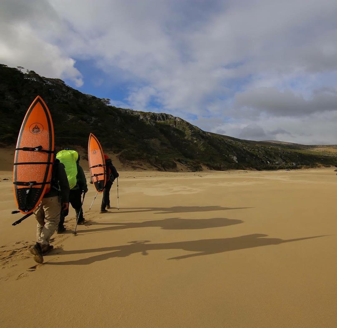 Llegando a Playa Dorada. #conservemos #peninsulamitre #tierradelfuego