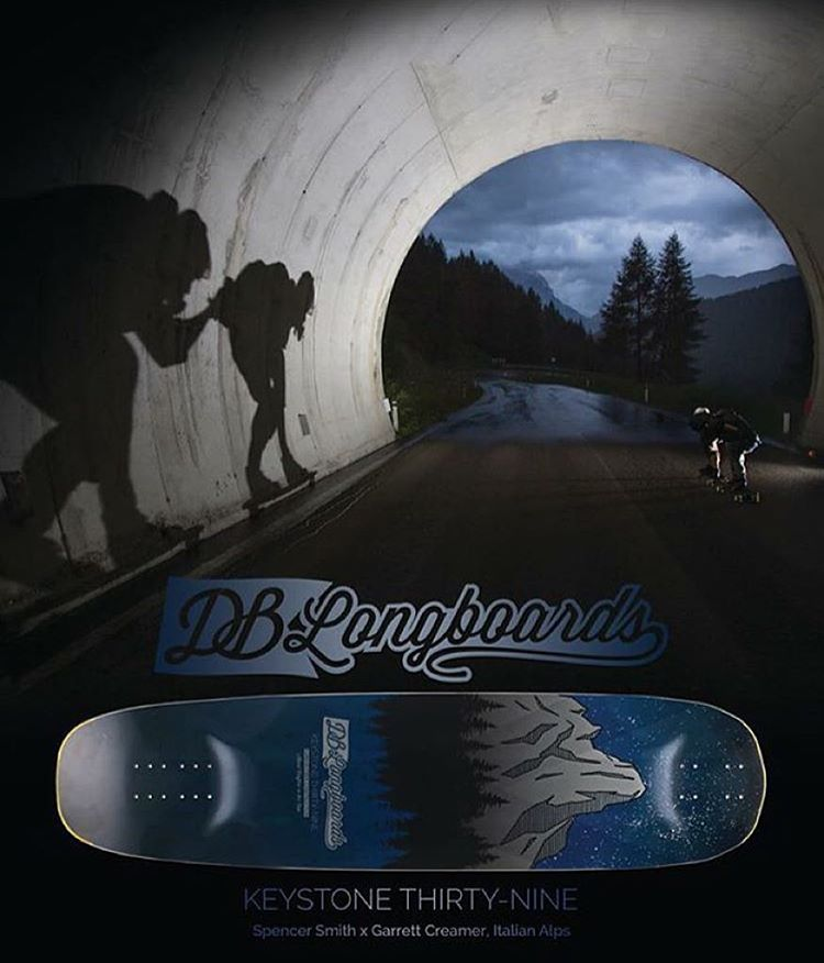 If you haven't seen our ad in the new @skateslate here it is featuring Garrett Creamer and Spencer Smith mobbing through Europe on the Keystone. #dblongboards #longboard #longboarding #dbkeystone #skateeverydamnday #wegivegoodrides