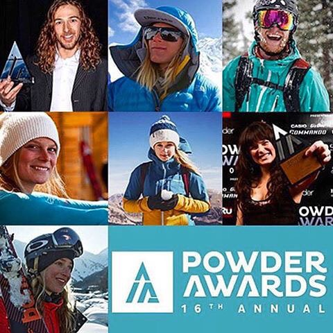 Stoked to see four of the Panda High Council members nominated for the 16th annual Powder Awards Powder Poll! Sending a huge shout out to Angel Collinson, Sander Hadley, Drew Tabke, and Mark Abma for makin' the list! Get on and vote for your favorite...