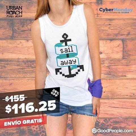 Sigue el #cybermonday ! Aprovecha nuestras ofertas!!! #sailaway #pixel #style #urban #fashion #ofertas