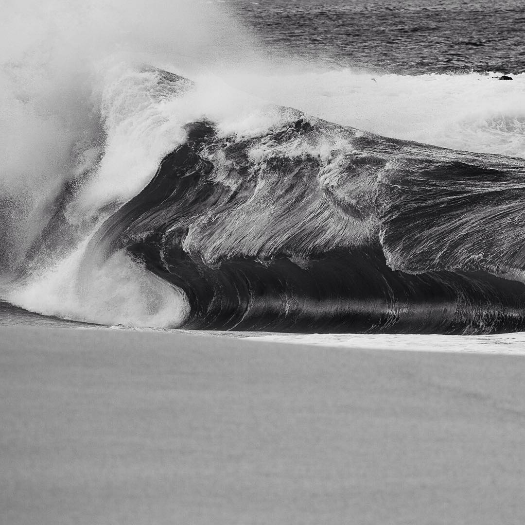 Sometimes the most fierce and powerful things can be the most inspiring and beautiful. Thus is true about the ocean, especially this wave at Ke iki on the North Shore of O'ahu.