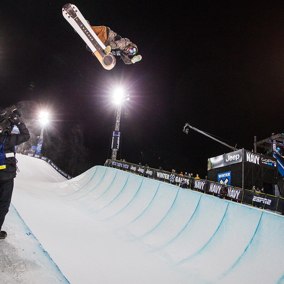 Two-time defending #XGames Snowboard SuperPipe gold medalist @TravelinDan is gonna chill with us at @ESPN HQ tomorrow! (