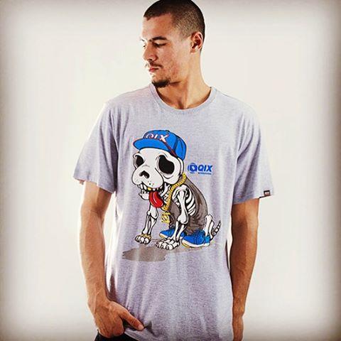 Camiseta QIX Especial Verão 16. Disponível nas lojas de todo o Brasil. #qixverao2016 #qixdogstyle