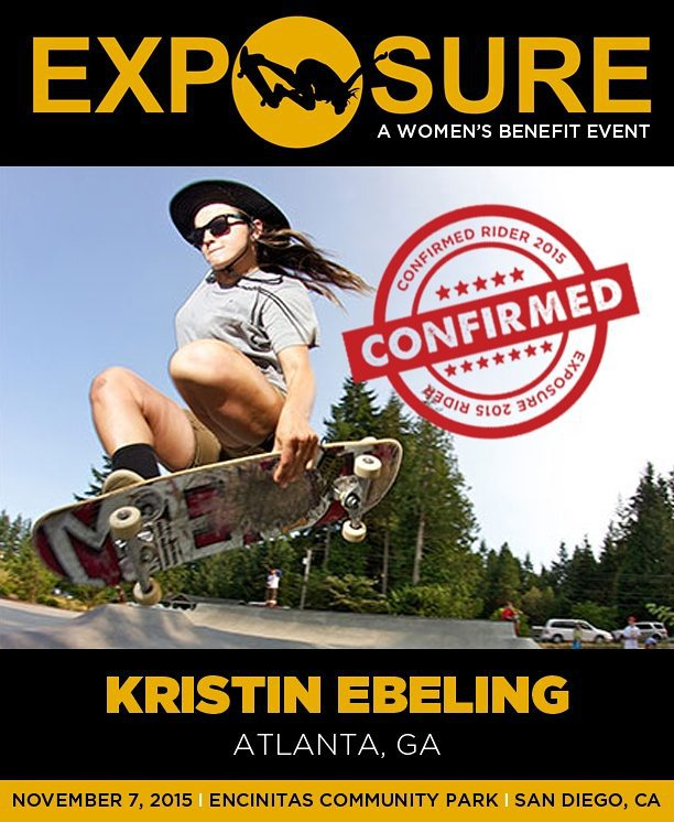 Kristin Ebeling (@andawhamybar) is confirmed for #Exposure2015! Photo by Marshall Reid