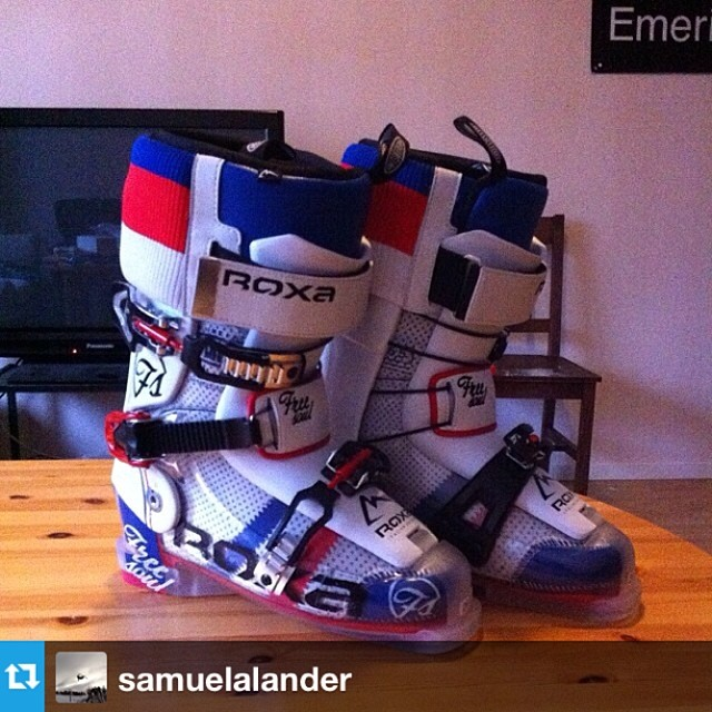 #Repost from @samuelalander showing off his new #freesoul10's