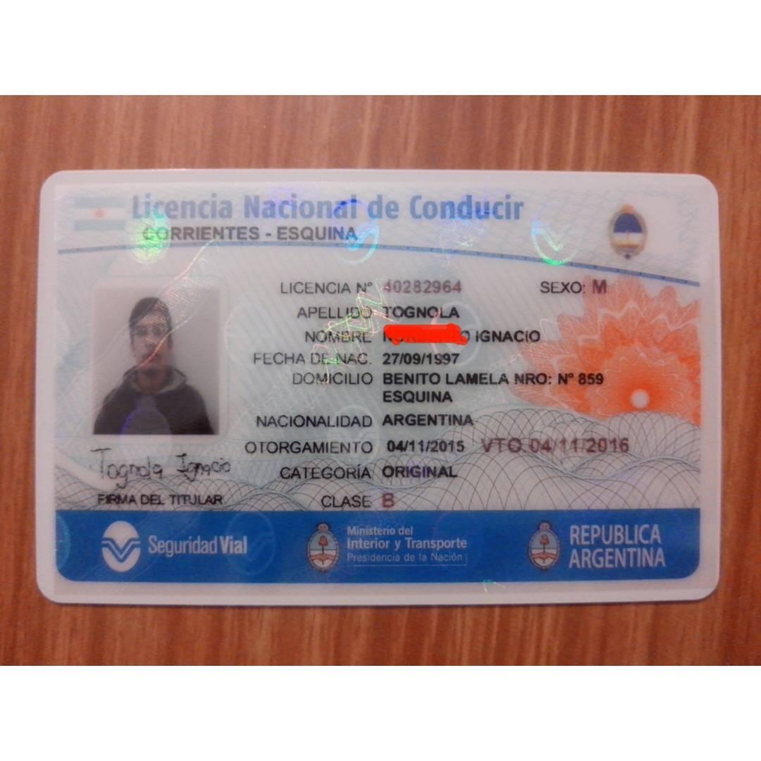 Por fin #licencia!! ( vamos a taparle primer nombre dijeron