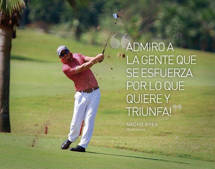 """Se suma a nuestro equipo de embajadores Nacho Brea Golfista, de gira por México,  disfrutando de su pasión. """"Junto a la gente que ama lo que hace"""" ⛳"""
