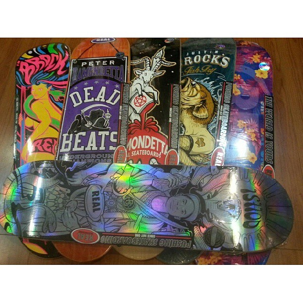 "nuevas tablas #realskateboards 8,125 hasta 8,4"" #avstafe4096"