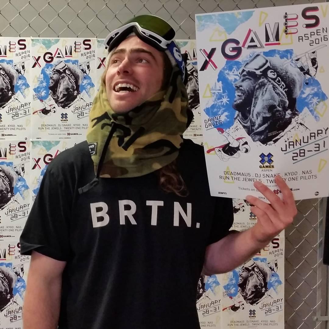 @TravelinDan, #XGames poster boy.