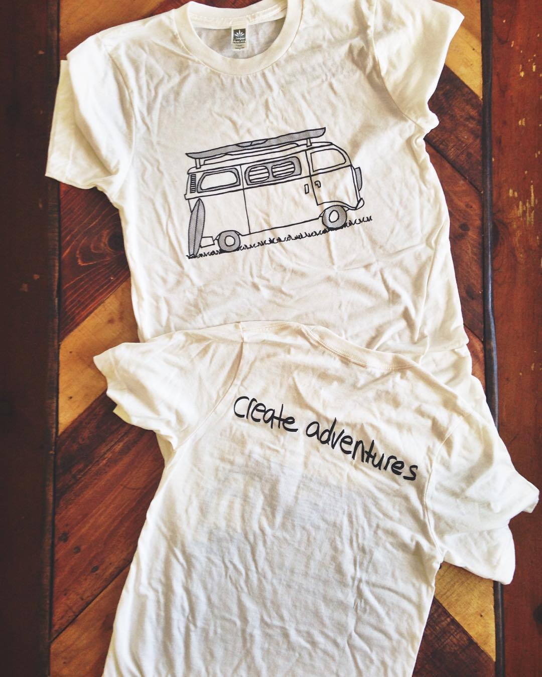 ~ Conscious Adventurer ~  One of our first original designs, The Adventure tee, will be back in our online shop by the weekend!  The perfect companion for #vanlife road trips, wilderness campsites, Baja surf journeys, and any adventure in between....