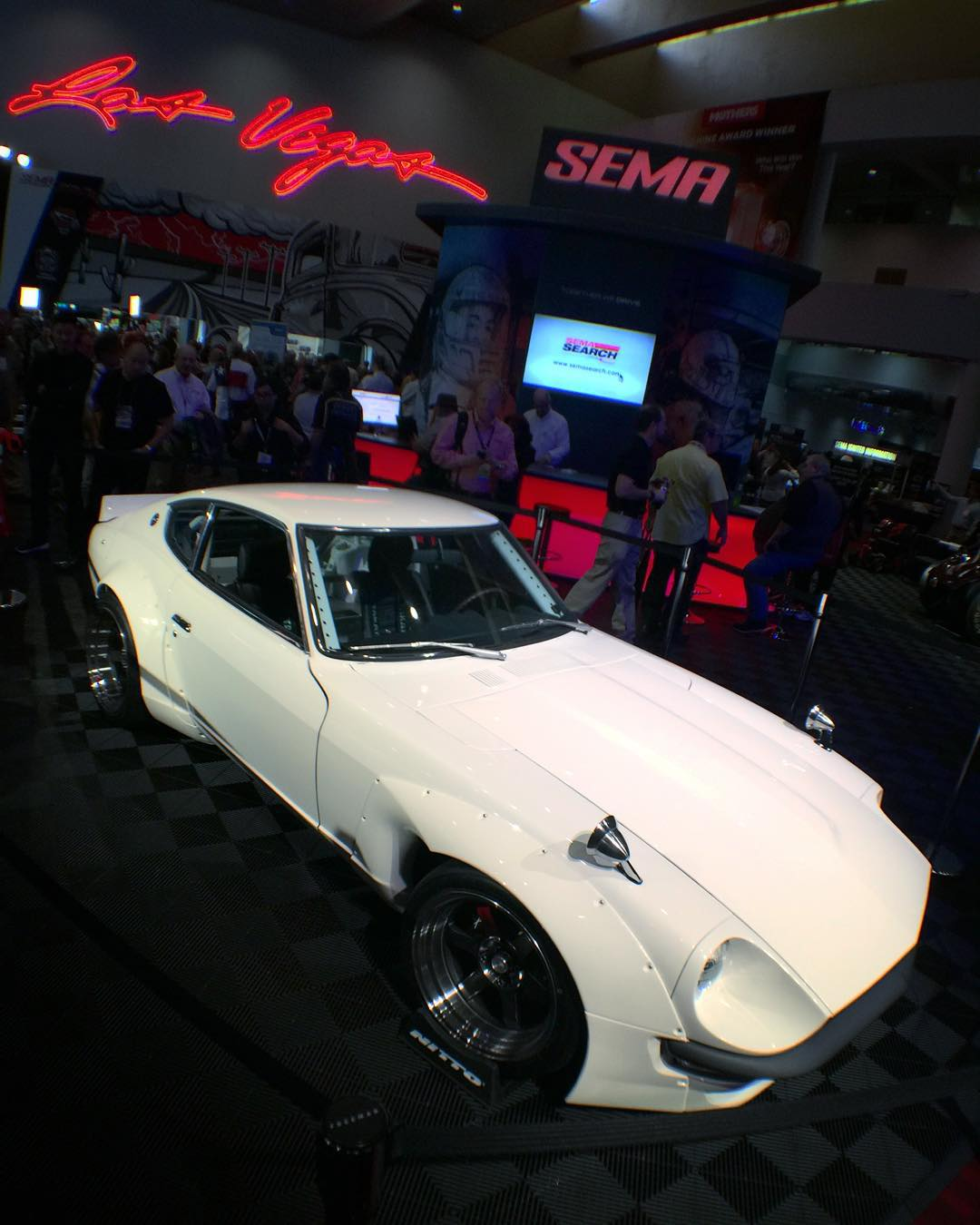 Day 2 of SEMA and we still haven't seen everything yet. #HNGNdoesSEMA