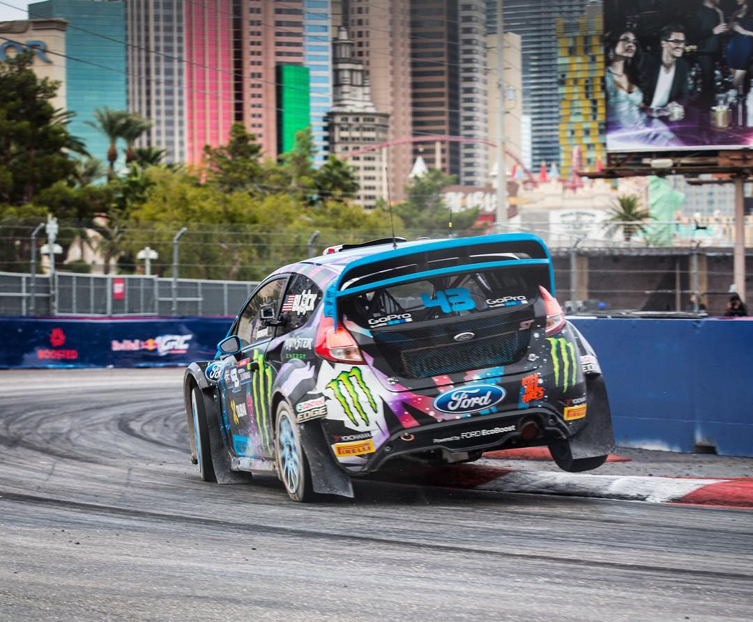 My #GlobalRallycross Championship bad luck continues right off the bat here during qualifying in Las Vegas. On only my second lap of Q1 this afternoon, I got a puncture on my left front tire in the gravel section. And because that happened in the...