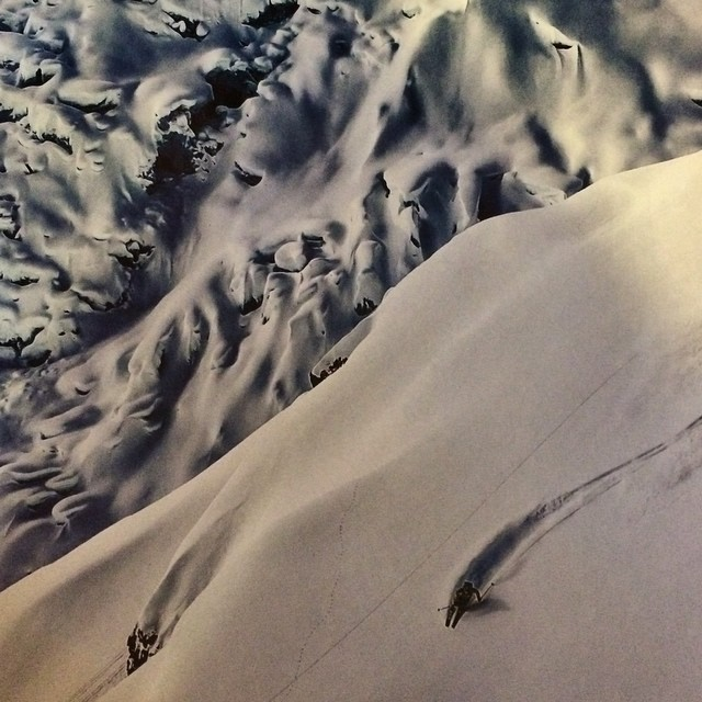 Check out the latest @freeskiermagazine ! @joshdaiek and @grant_gunderson pretty much had the most amazing photo in the entire issue. Stoked to see hard work pay off! Congrats Josh! Love ya! #proudgirlfriend #hardworkpaysoff  #ski #badass #BC...