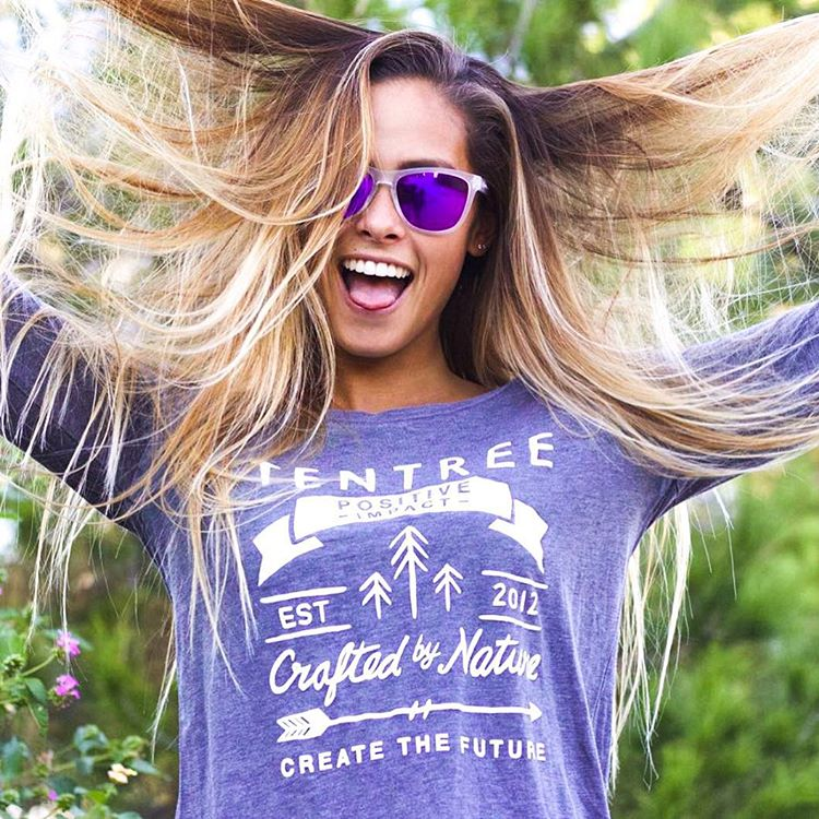 Let your hair down  @izzyisup wearing the Fiji frames  #Kameleonz #Tentree #Wednesday