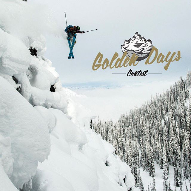 Announcing #OURGOLDENDAYS contest.  Winners Receive: Shaping Skiing DVD, Golden Days Lookbook & 4FRNT Swag !  ONE WINNER PER DAY  Upload a photo from your most epic powder or ski day in the 2015 ski season to Instagram and add hashtags #OURGOLDENDAYS...