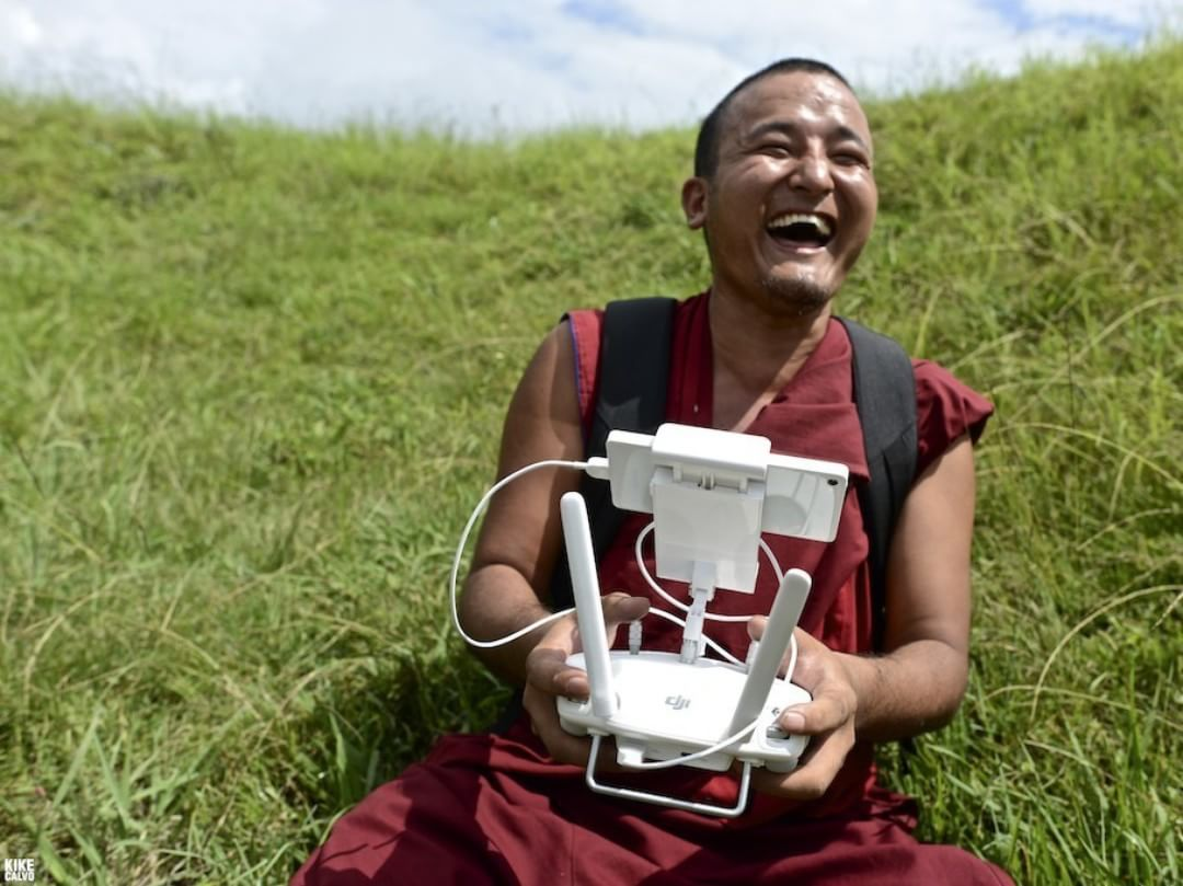 The smile on their faces says it all. Recent #DJIStory with #PIX4D, #Uaviators and Smartisan.  The first humanitarian UAV mission for the Kathmandu Flying Labs, the combined effort of all helped with mapping and rebuild efforts necessary after such a...