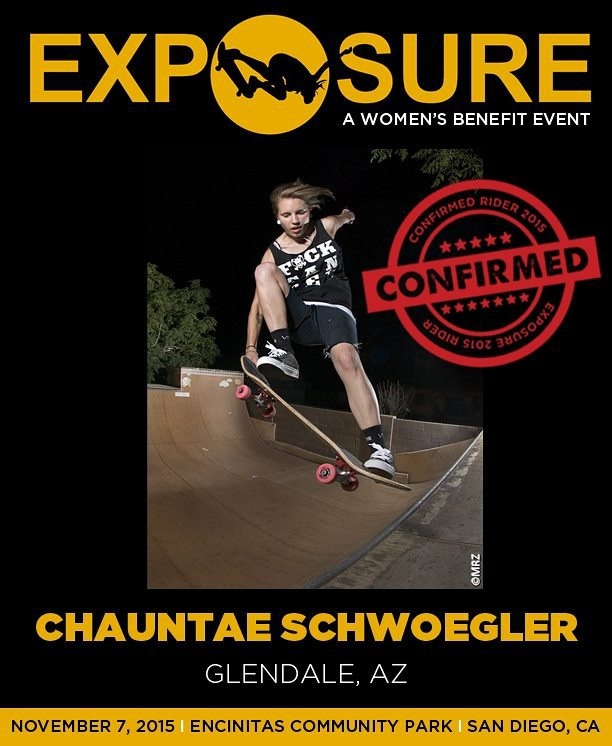 Chauntae Schwoegler (@namastae11) is confirmed for #exposure2015!