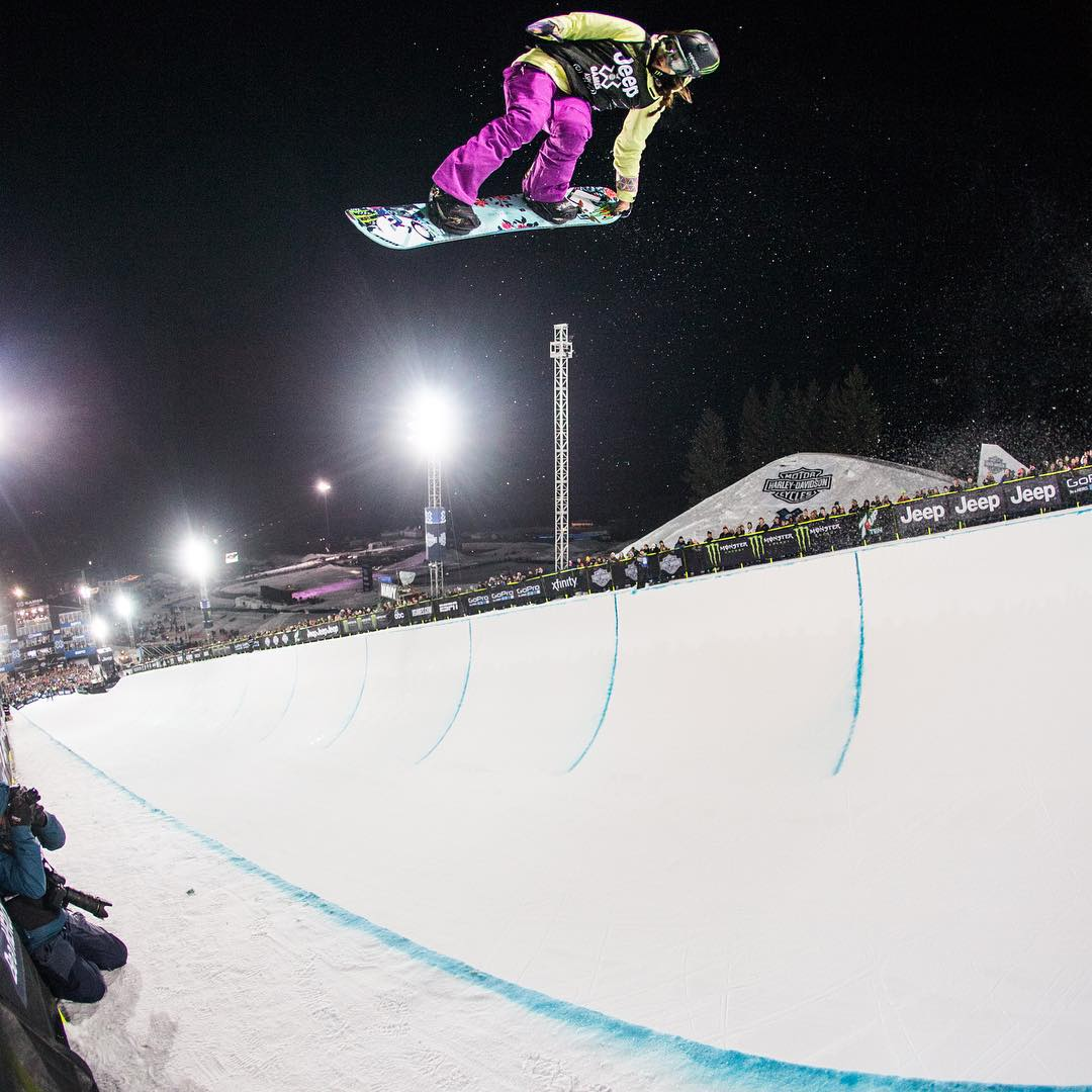Defending #XGames Snowboard SuperPipe gold medalist @ChloeKimSnow was named to @TIME's '30 Most Influential Teens' list! (