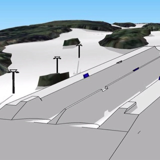 Hey @SnowParkTech, mind building this at @AspenSnowmass? #DoublePipe