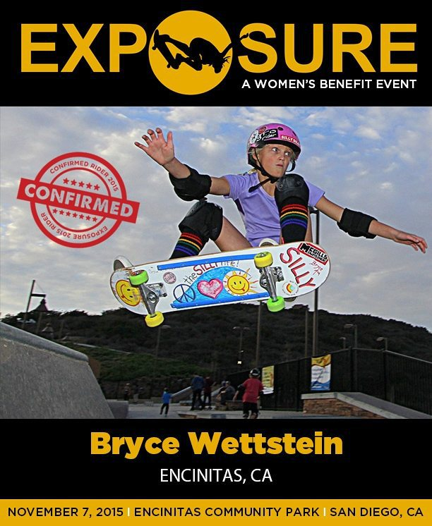 Bryce Wettstein (#BryceWettstein) is confirmed for #exposure2015!