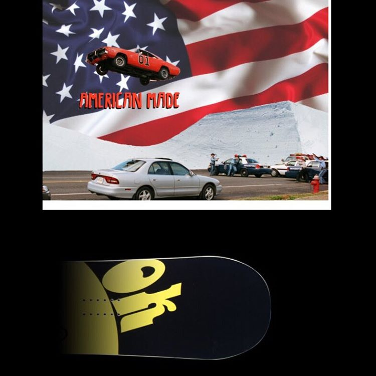 Check out #americanmade  article on snowboards Mars here in USA @snowboardermag  #3yearwarranty | #handmadeUSA | #weareOK #LaneKnaackPromodel