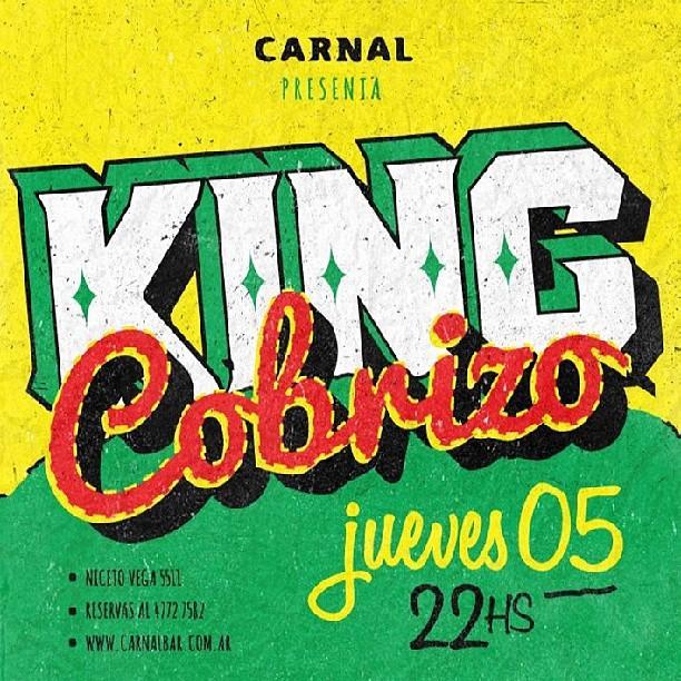 #kingcobrizo #carnalbar #dub #reggaedancahall