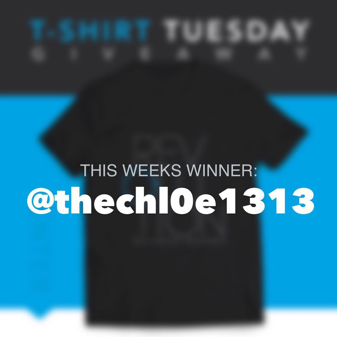Congrats to this weeks winner @thechl0e1313! Thanks to everyone who entered, we will be back again next week with another giveaway