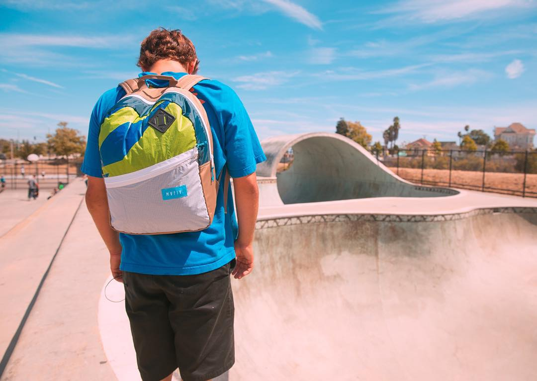 Staring down some @urbanbarrels with our Sail Pack in tow // shout out to our friends at Urban Barrels who create some awesome upcycled gear in Southern California ⚡️♻️ #sailstostuff  #fromsailstobags #staybarreled