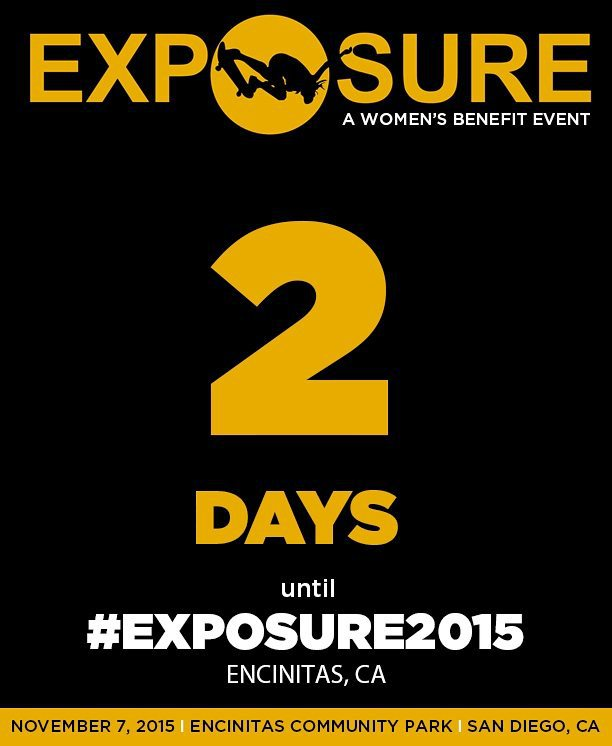 #Exposure2015 is only 2 days away!  Get ready for some serious shredding with over 100 competitors from all over the world.  See you Saturday!
