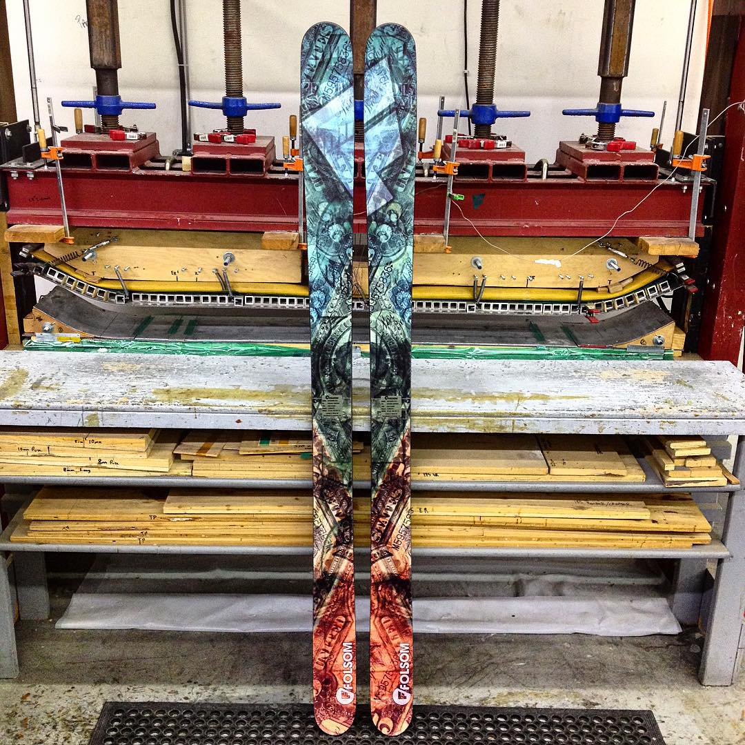 These skis are so money! #moneyorder #madeintheusa #fridayfeeling