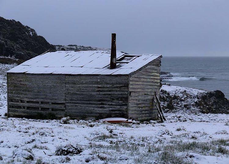 Amaneciendo en Tierra del Fuego. #peninsulamitre #conservemos