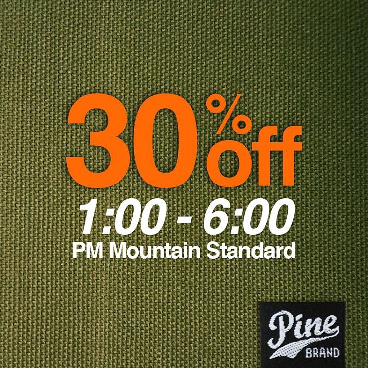 FLASH SALE FRIDAY  For the next couple hours enjoy 30% off everything at pinebrand.com! Happy Friday peeps
