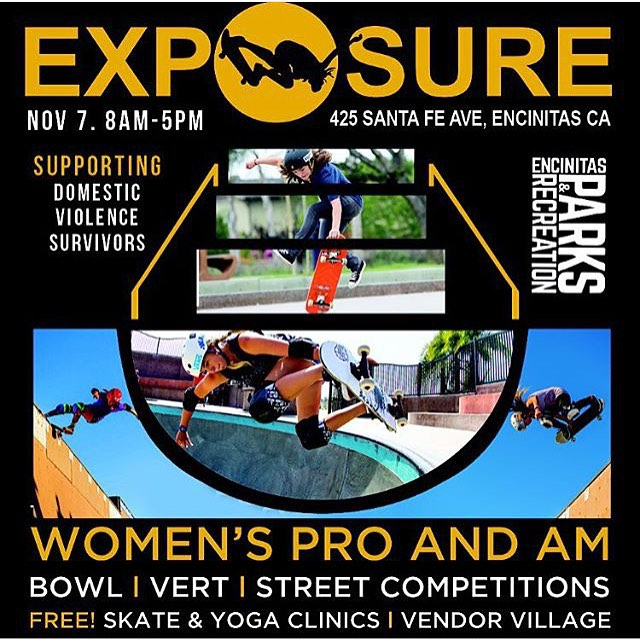 @exposureskate is this weekend‼️‼️‼️If you're in the area make sure to stop by and check it out