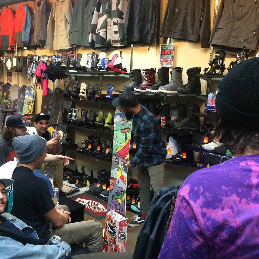 That time of year again!  Our Sales Manager, Jason, has been hitting the road dropping wisdom on all the shop kids!! @gzboardshop #supportlocal