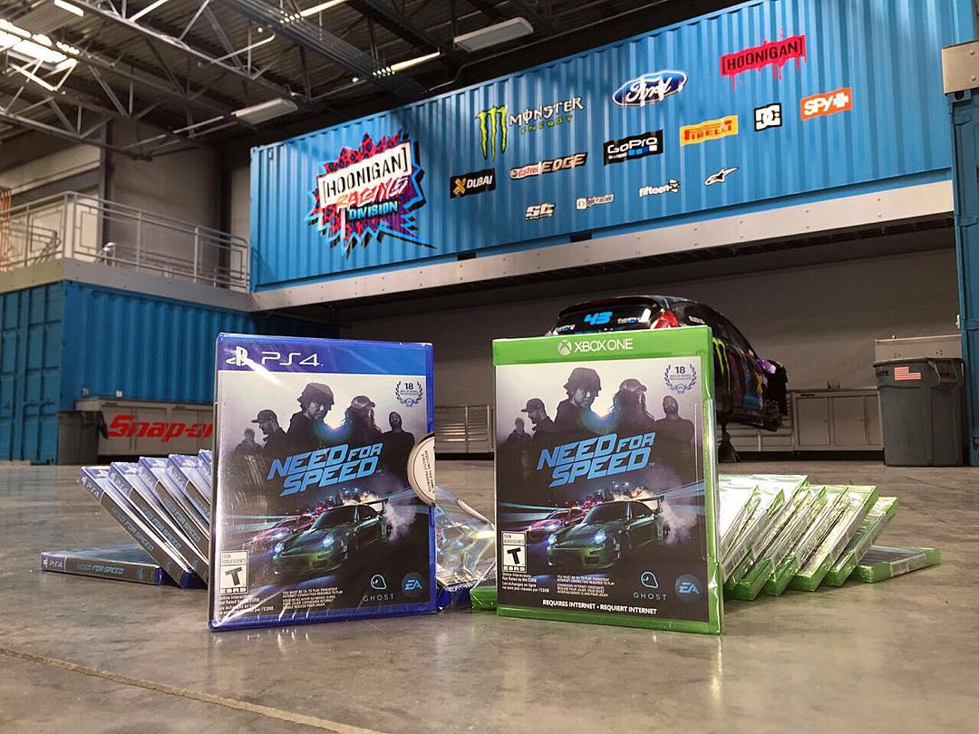 Came back to the #HRD_HQ today to a slew of new @NeedForSpeed games. Can't wait to play the final version of the game! Who's played the game so far? #availablenow #NeedForSpeed