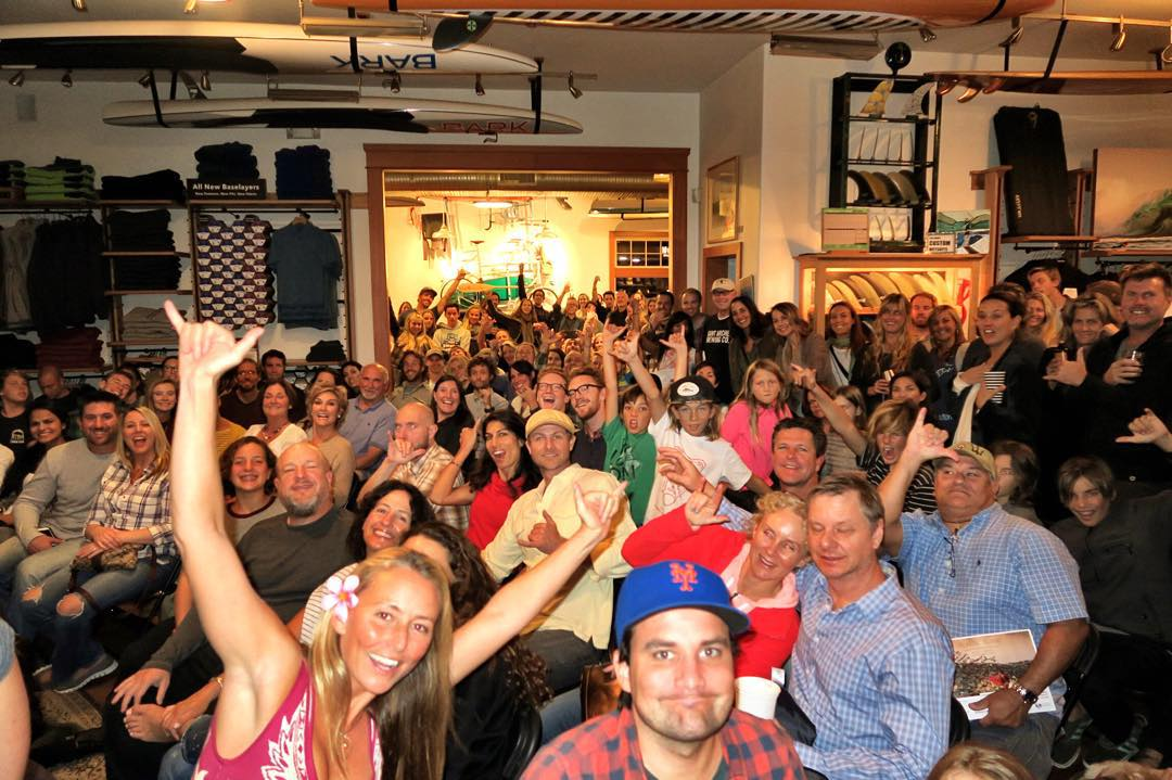 HOLY COW! All I can say is WOW! I'm truly blown away and heart warmed beyond belief by the incredible hundreds of supportive people who came out to @patagoniacardiff tonight for the San Diego premiere of my latest film and an important informative talk...