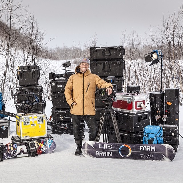 Have enough toys there, @TravisRice? Red Bull Media House and @BrainFarm Cinema kick off filming the follow-up to #ArtOfFlight. Click the link in our profile to see more.