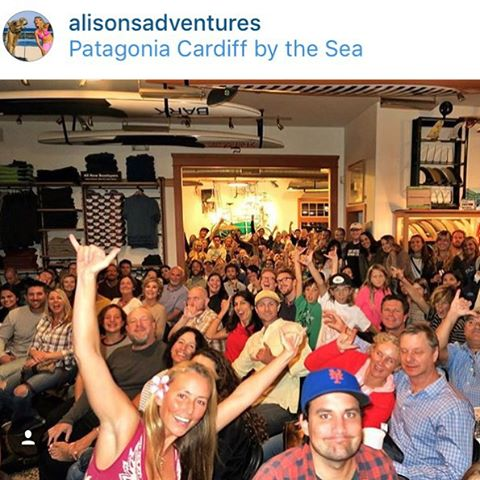 Thank you everyone who came out to @alisonsadventures film last night! We are so excited to see how many people truly are inspired, encouraged, and engaged by Alison and her amazing adventures! To see first hand how many people really want to do more...