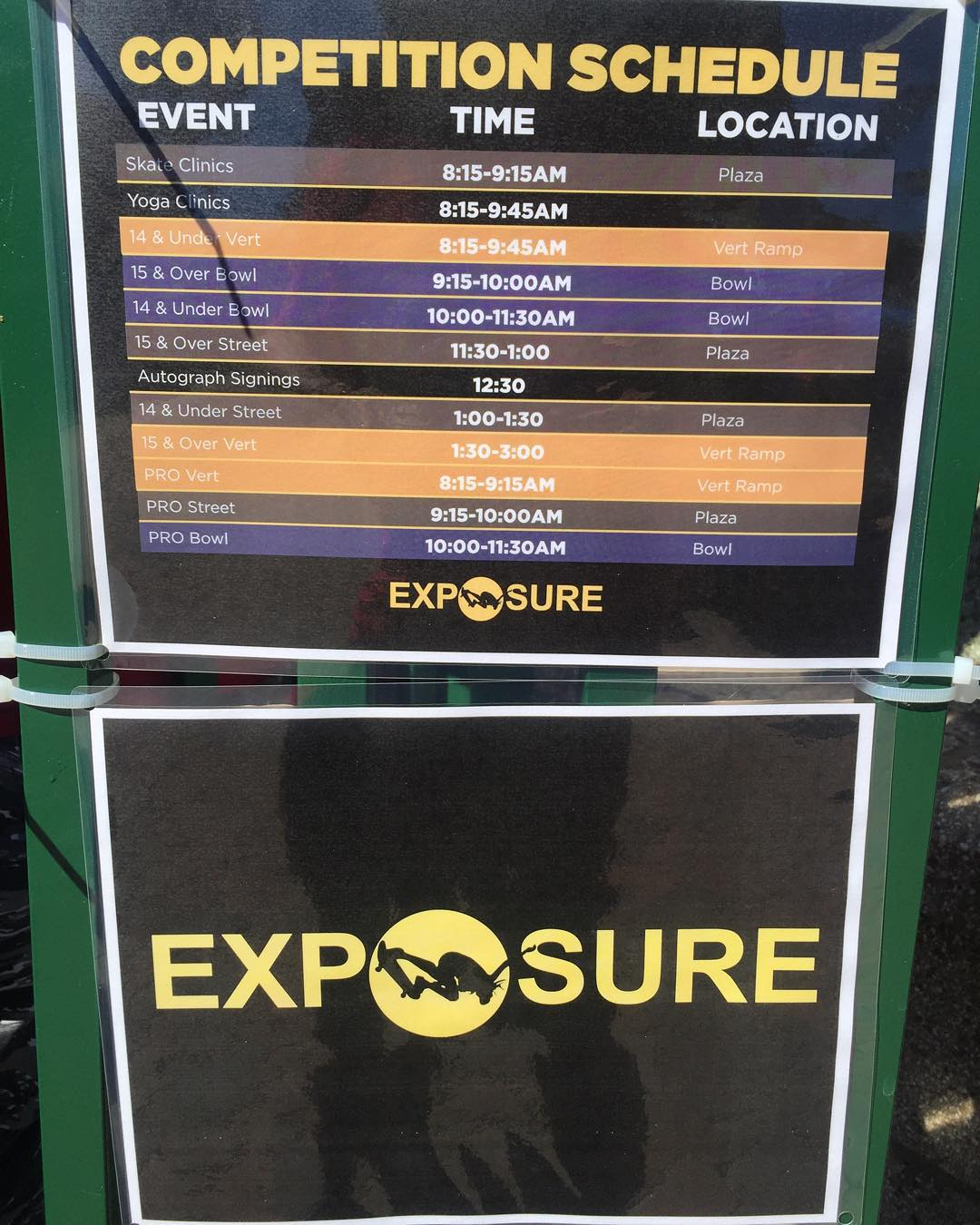 We have tons of events going on right now! Come through and check out EXPOSURE 2015! #exposure2015