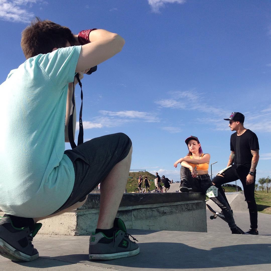 Shooting Photos con @redbatfoto