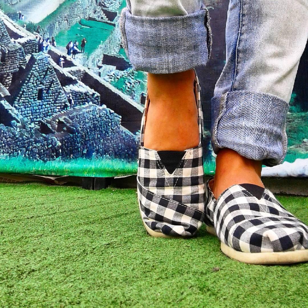 Haciendo tus viajes más leves. Somos Perky !!! #shoes #alpargatas #machupicchu #fly #travel #world