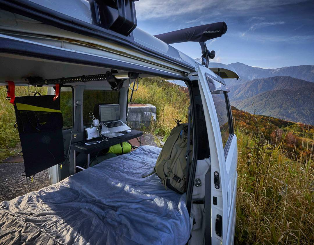 A mobile cubicle. The folks over at @fstopgear sure know how to #officeanywhere.