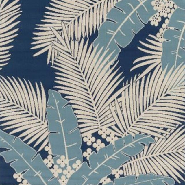 Palms on Sunday: sketchpad inspiration via vintage textile design // #findyourcanvas #AllSwell