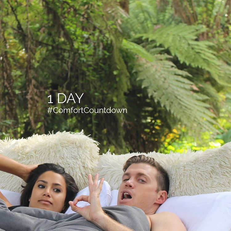 These two look ready. 1 day left of the #comfortcountdown
