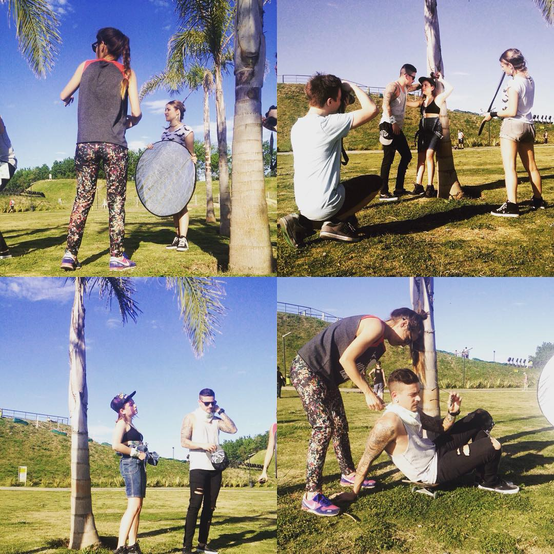 Photos backstage @redbatfoto #design #fashion #mode #style #shooting #production #mode #moda #palm #summer #look #lookbook