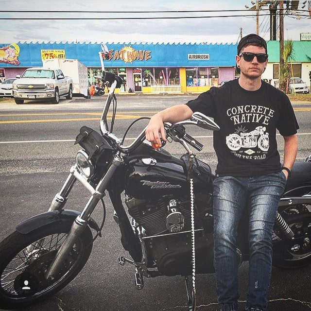 #ShoutOutSunday this week goes to @caleheatcheck! Layin' back in the Easy Rider Tee.  Remember, if you want a shoutout, tag us in your photos! We love to see our stuff on you beautiful people!  #sos #concretenative #sk8life #skatelife #skateboarding...