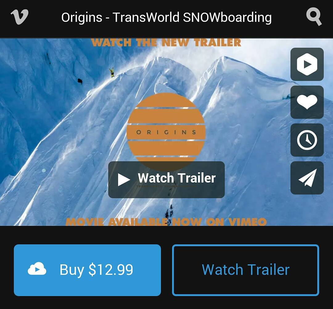 TransWorld SNOWboarding (@twsnow) presents 'Origins' Movie. Check out John Jackson's (@johnjamun) part in the movie. It's epic!  A direct link to the movie's home page will be in our profile for the next day.  #snowboarding#OriginsMovie #TWSnow...