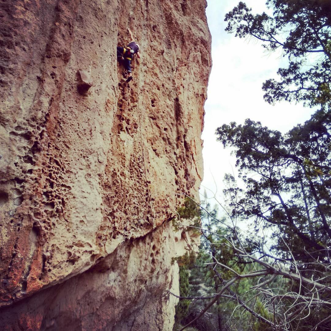 Sábado de escalada en roca #embajadordelosandes