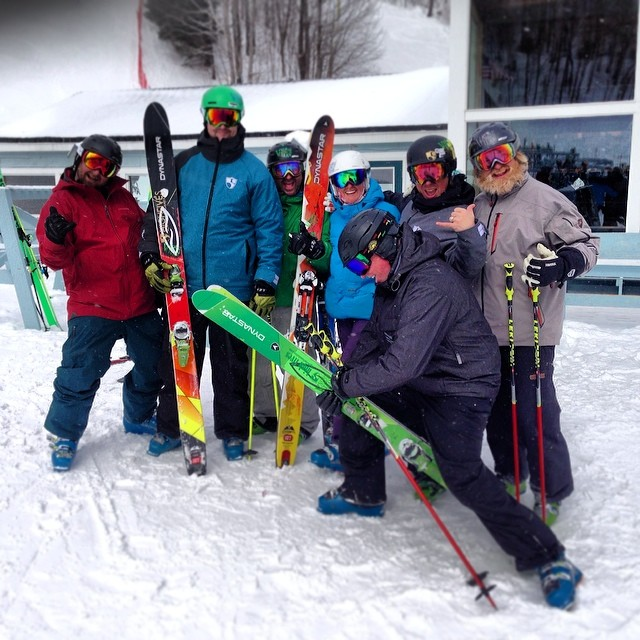 Incredible day at Mad River Glen with @vtnorthskishop and @vtnorthproteam | Top-Notch Fun!