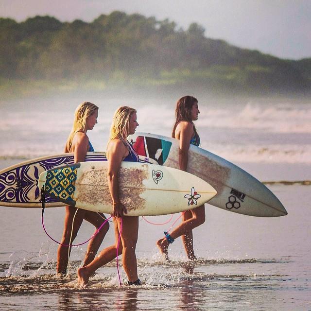 time to surf!  #miola #costarica #puravida #surfer #surferbabe #surfergirl #surfsup